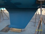 Keel coating after striping
